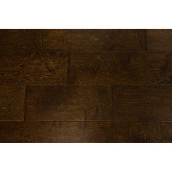Hicks Collection Engineered Hardwood in Dark Chocolate - 3/8' x 6-1/2' (25.58sqft/case) - 3/8' x 6-1/2'