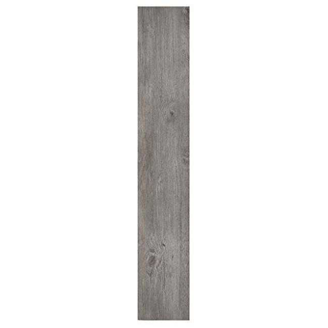 6 x 36 in. Nexus Light Grey Oak Self Adhesive Vinyl Floor Planks - 10 Planks by 15 sq. ft.
