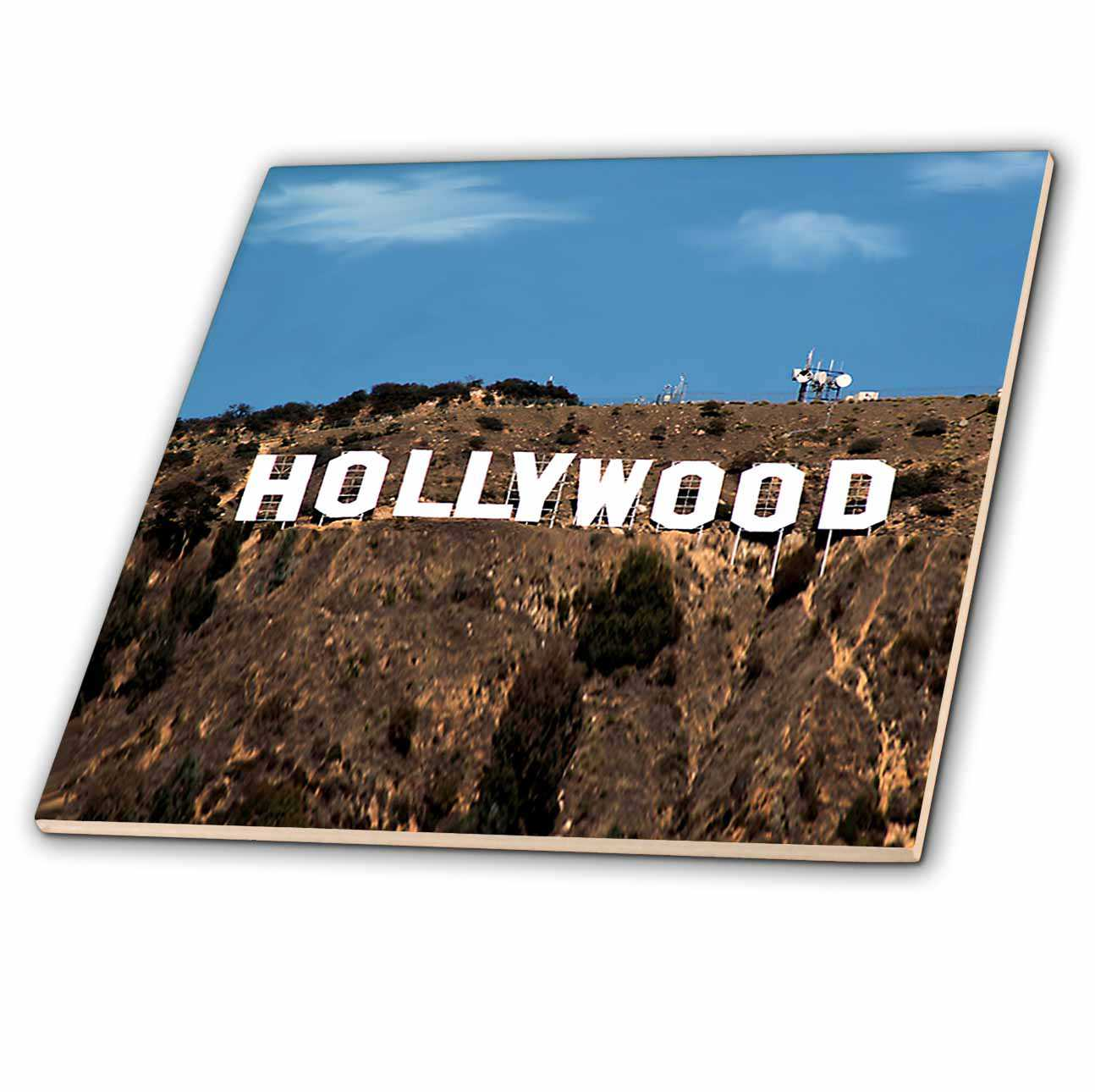 3dRose Hollywood - Ceramic Tile, 6-inch